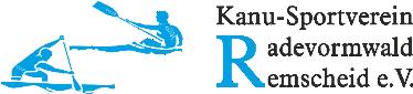 Vereinslogo: Kanu Sportverein Radevormwald/Remscheid e.V.