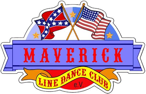 Vereinslogo: Line Dance Club Maverick e.V.